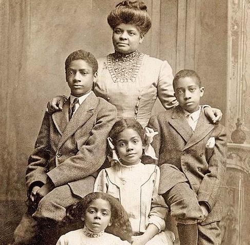Ida B. Wells and family