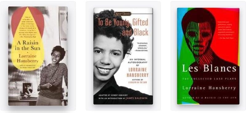 Lorraine Hansberry books