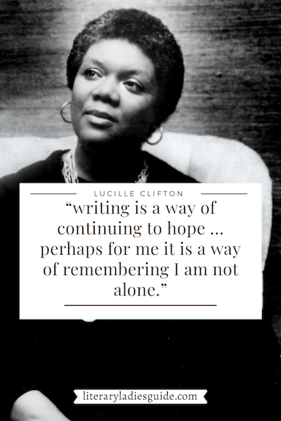 Lucille Clifton quote