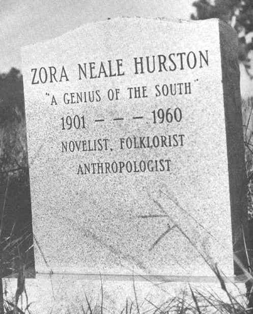 Zora Neale Hurston Gravestone