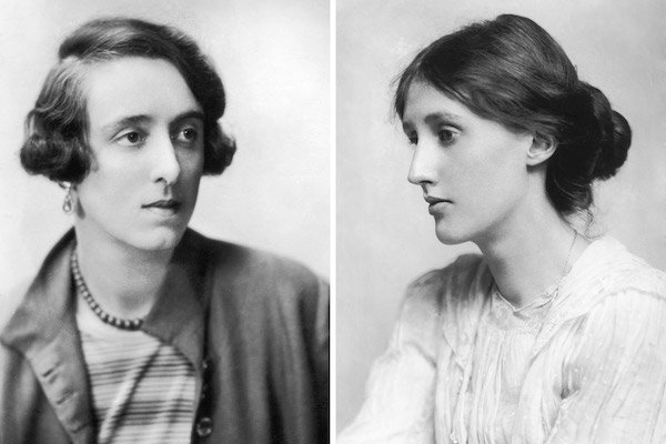 Vita Sackville-West and Virginia Woolf