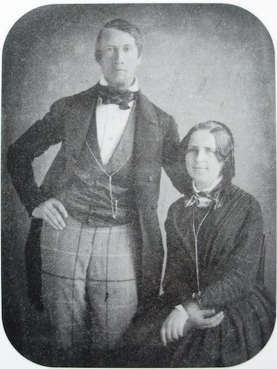 Bernhar and Johanna Spyri in 1852