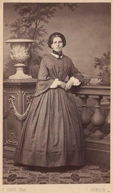 Johanna Spyri in Zurich