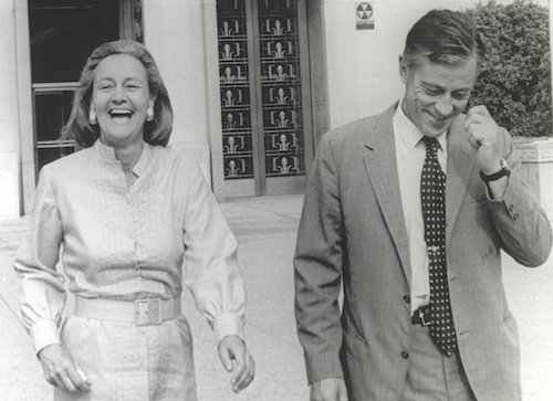 Katharine Graham and Ben Bradlee