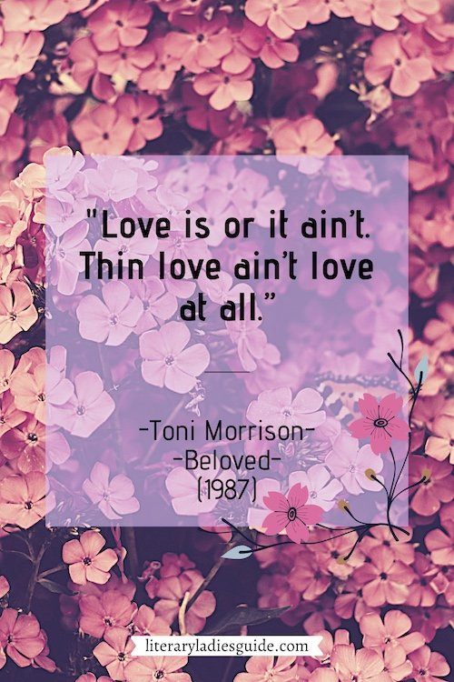 Quotes from Beloved by Toni Morrison