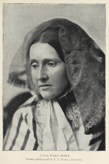 Julia Ward Howe - 1861