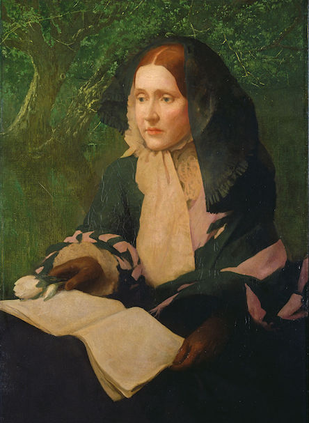 Julia Ward Howe portrait by John Elliot