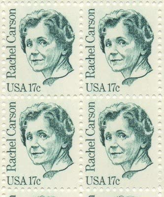 Rachel Carson US postage stamps
