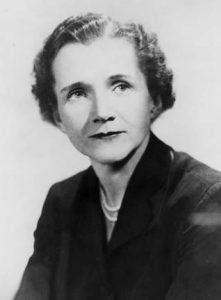 Rachel Carson portrait