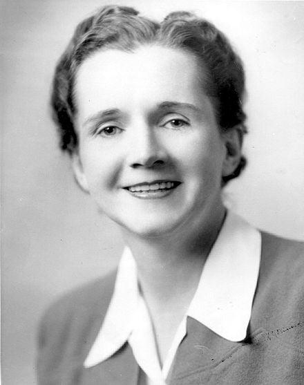 Rachel Carson, author of Silent Spring