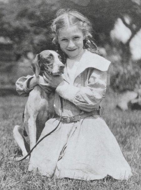 Rachel Carson as young girl