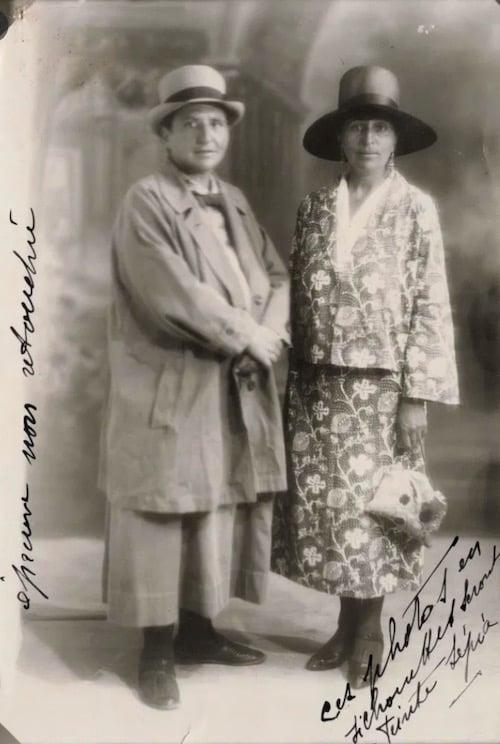Gertrude Stein & Alice B. toklas