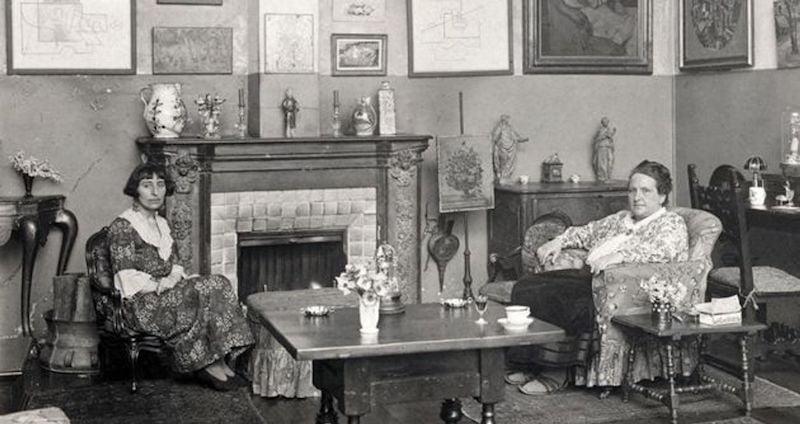 Gertrude stein & Alice B. Toklas - rue de fleurus salon