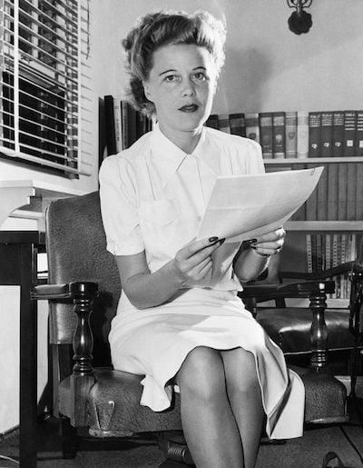 Joan Harrison at-Universal-1943