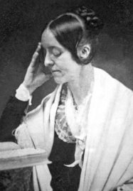 Margaret Fuller in profile