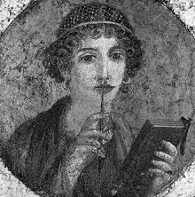 Sappho- Greek poetess