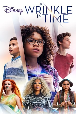 a wrinkle in time 2018 film cover