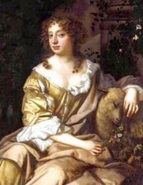Aphra Behn, scandalous English author
