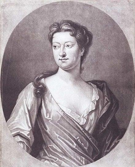 Susanna Centlivre, English writer