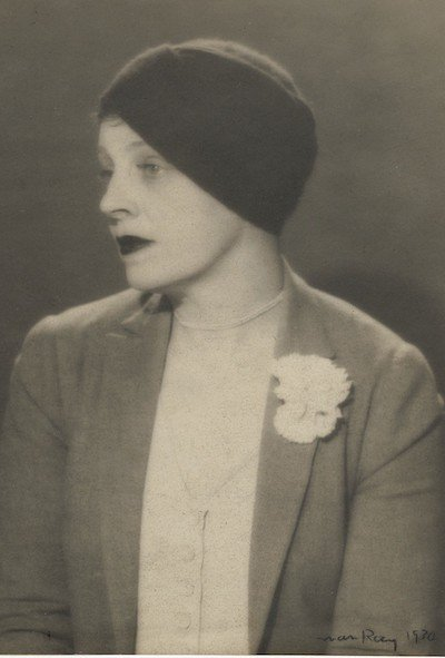 Margaret C. Anderson in 1930 photo by Man Ray