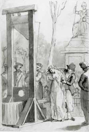 Olympe de gouges execution, 1793
