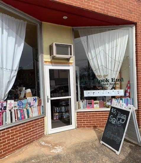 The book end, used bookstore in Blackstone VA