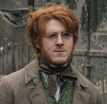 Adam Nagaitis as Branwell Bronte in To Walk Invisible