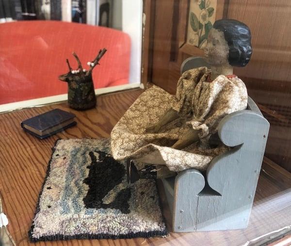 Rachel Fields' Hitty doll
