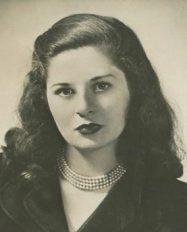 Maureen Daly, American author of Seventeenth Summer, ca. 1950