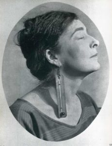 Mina Loy 1917 by Man Ray