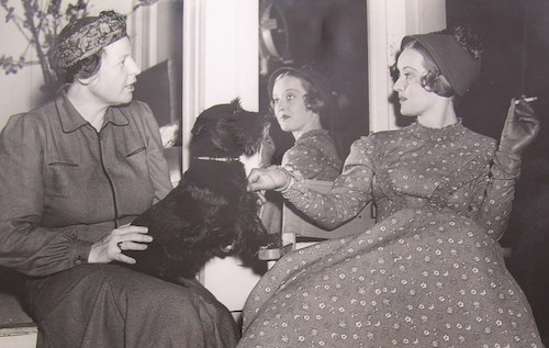 Rachel Field and Bette Davis