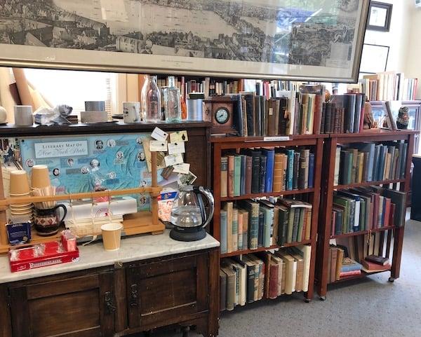 Adams Antiquarian books, Hobart, NY