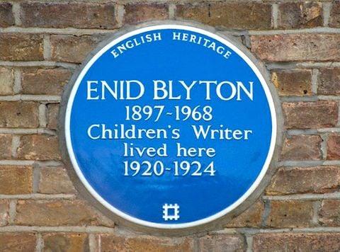 Enid Blyton plaque