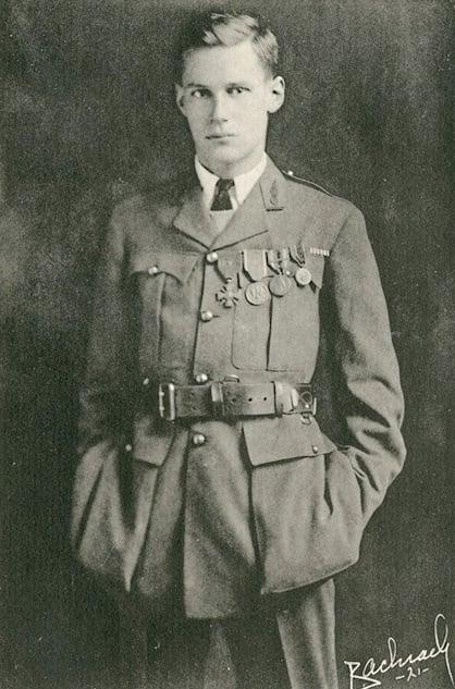 Harry Crosby in 1919