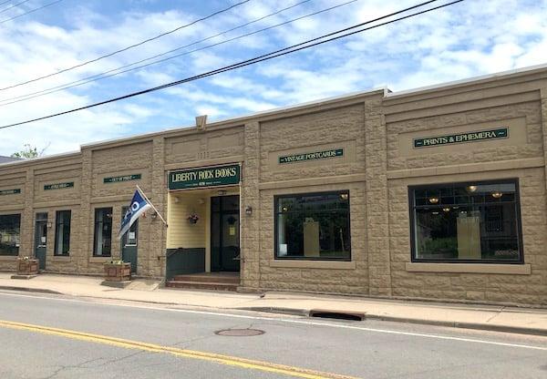 Liberty Rock Books, bookshop in Hobart book village, NY