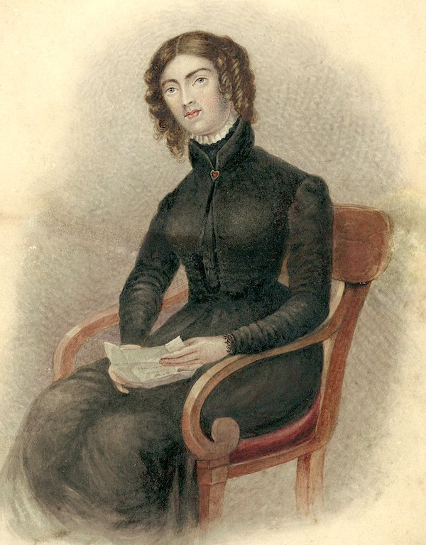 Anne Lister watercolor