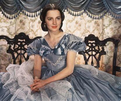 Olivia de Havilland as Melanie Wilkes in Gone with the Wind