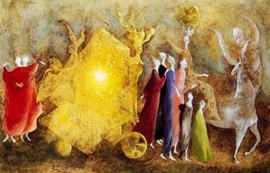 Amor che move il Sole et l'altre Stelle, 1946 by Leonora Carrington
