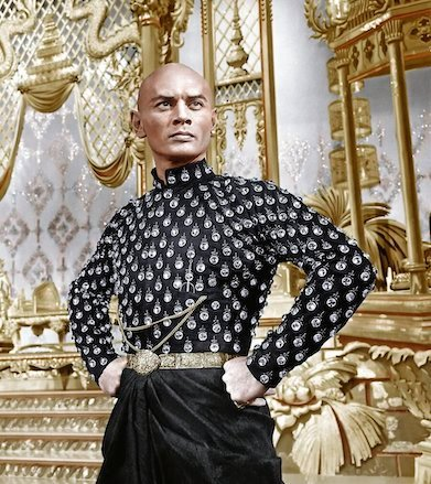 Yul Brynner, 1956 in The King and I