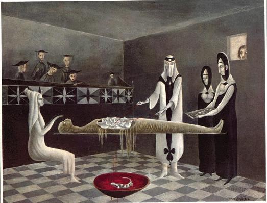 Adieu Ammenotep 1960 by Leonora Carrington