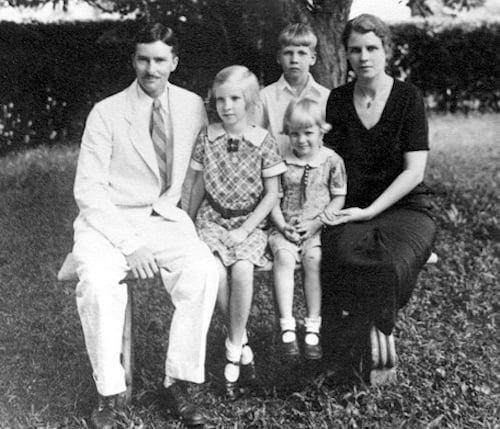 kenneth and margaret landon family
