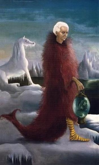 portrait-of-max ernst 1939 by Leonora Carrington