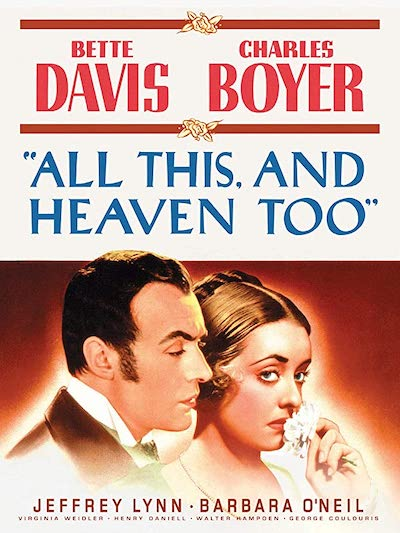 All This, and Heaven Too 1940 film