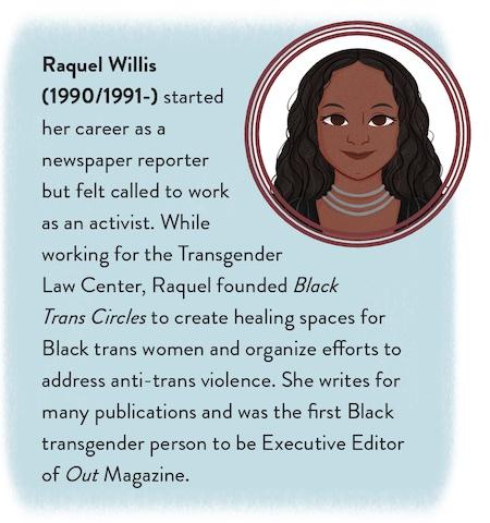 Raquel Willis lllustration by Melina Ontiveros