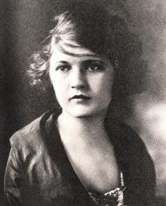 Zelda Fitzgerald, around 1919