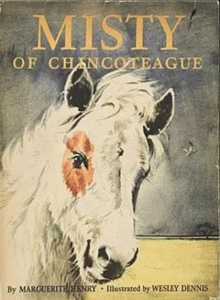 Misty of Chincoteague Book Cover